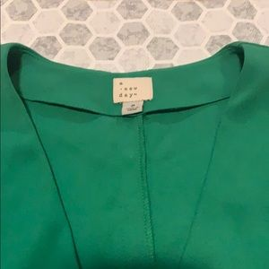 Bright green summer dress